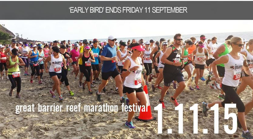 Great Barrier Reef Marathon Running Festival – Port Douglas 2015