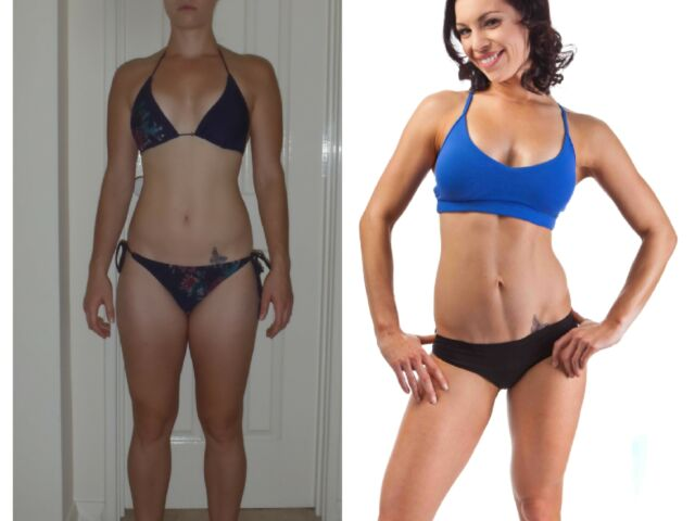 Karla 12 Week Body Transformation Before & After Pics